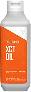 Bulletproof XCT MCT Oil Made with C10 and C8 MCT Oil, 32 Oz, Amplifies Energy, Keto Friendly