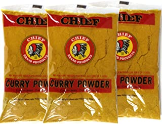 Chief (Indian Head) Curry Powder 8.1 Oz (3-Pack) by Chief