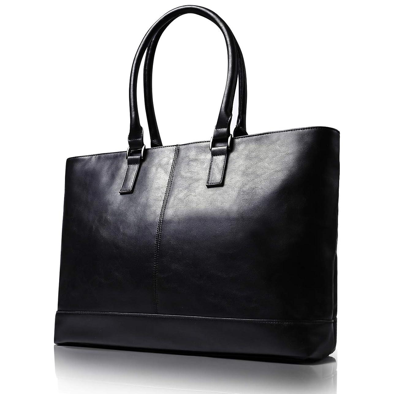 好ましい謝罪するスキャンダラスビジネストートバッグ メンズ トート バッグ 大容量 ビジネスバッグ 自立 トートバッグ