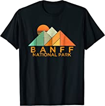 Retro Vintage Banff National Park Tee Shirt