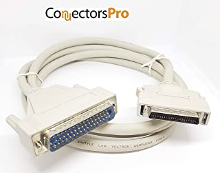 Pc Accessories - Connectors Pro 6 Feet SCSI-2 HD DB50 to DB50 M/M, DB50 Male to HD50 Male 6' RS232, SCSI Cable, 6-FT