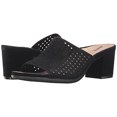 Earth Ibiza (Black Silky Suede) Women