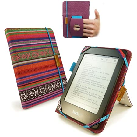 Tuff Luv Embrace Plus Material Case Cover For Kindle Touch Paperwhite Sleep Function Kobo Touch Navajo Kindle Store