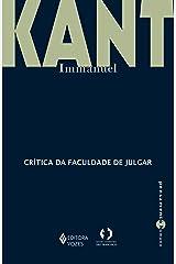 Crítica da faculdade de julgar (Pensamento Humano) eBook Kindle