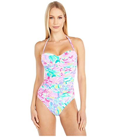 Lilly Pulitzer Flamenco One-Piece (Multi It Was All A Dream) Women