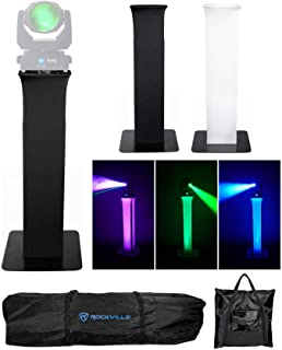 (1) Totem Light Stand+Black+White Scrims For Marq Gesture Beam 400