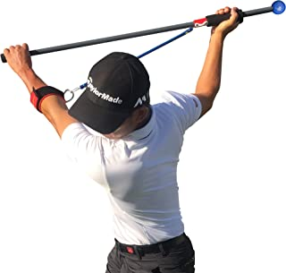 The Most Important Stretch In Golf - MISIG Golf Training Aid and Golf Swing Training Device - Pre and Post Injury Prevention Workout - Strength and Mobility Training