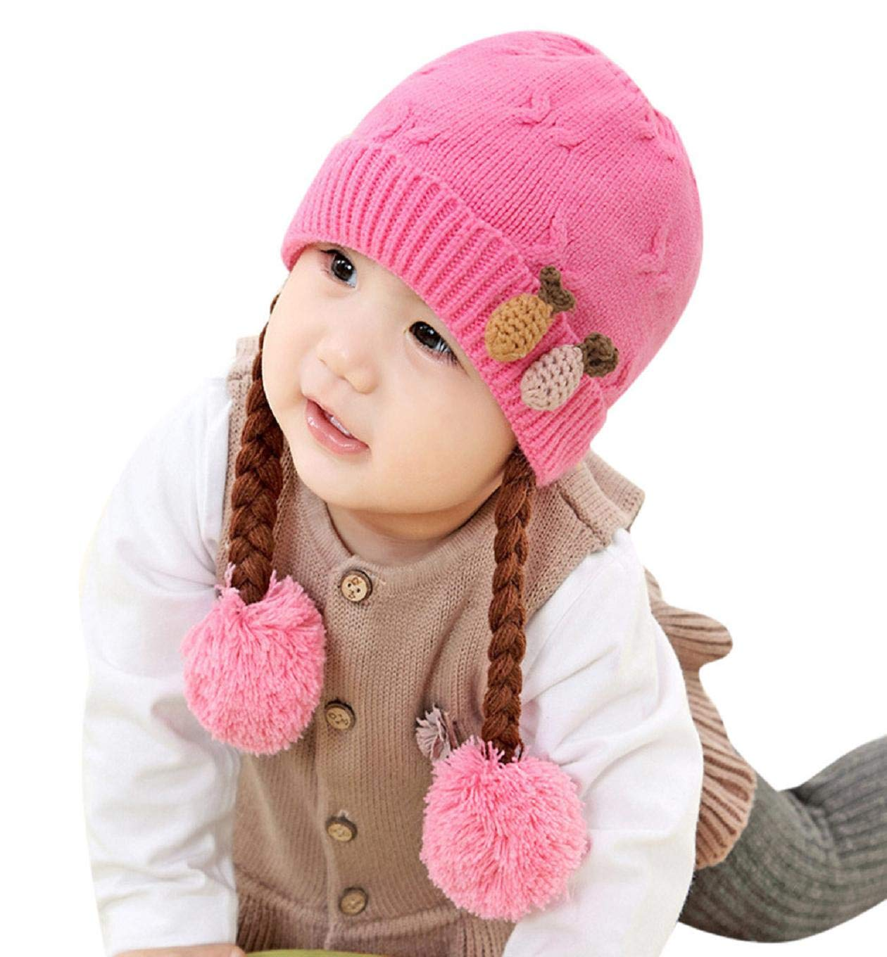 Putars Baby Knit Warm Childrens Holiday Hat