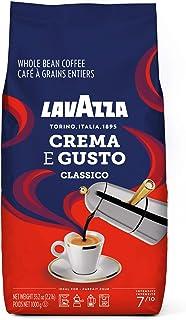 Lavazza Crema E Gusto Whole Bean Coffee Dark Roast 2lb Bag, Crema E Gusto, 2lb