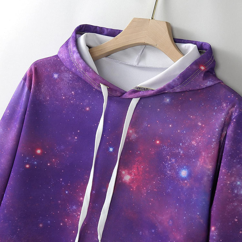 Hoodies for Men,Casual Mens Tie-Dye Pullover Hooded Sweatshirts Long Sleeve Gym Pullover Athletic Hoodie Tops