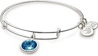 "Alex and Ani Bangle Bar Imitation Birthstone Bangle Bracelet, 2.75"""