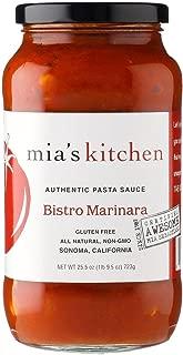 Mias Kitchen Marinara Pasta Sauce, 25.5 Ounce - 6 per case.