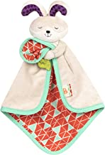 B. toys – B. Snugglies - Fluffy Bunz The Bunny Security Blanket – Adorable Baby Blankie with Soft Fabric – BPA Free