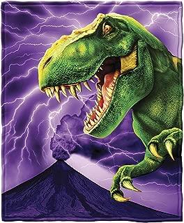 Dawhud Direct T-Rex Fleece Throw Blanket