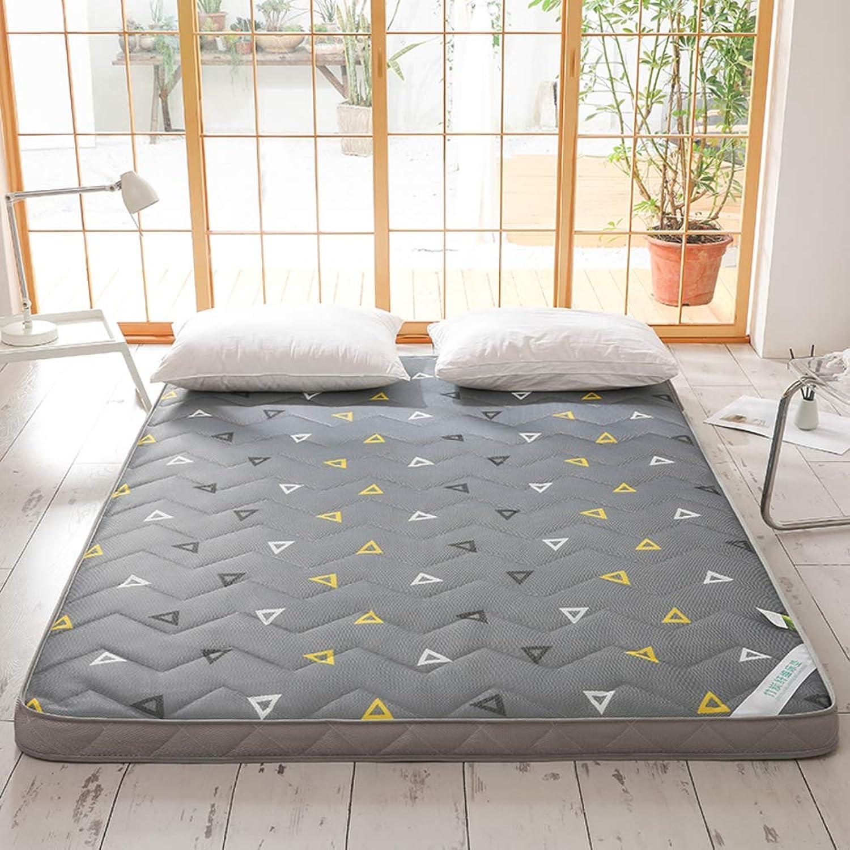 Tatami Floor Mat, Futon Mattress Topper Floor Sleeping Pad Soft Japanese Foldable Thicken Collapsible Twin-b 120x200cm(47x79inch)