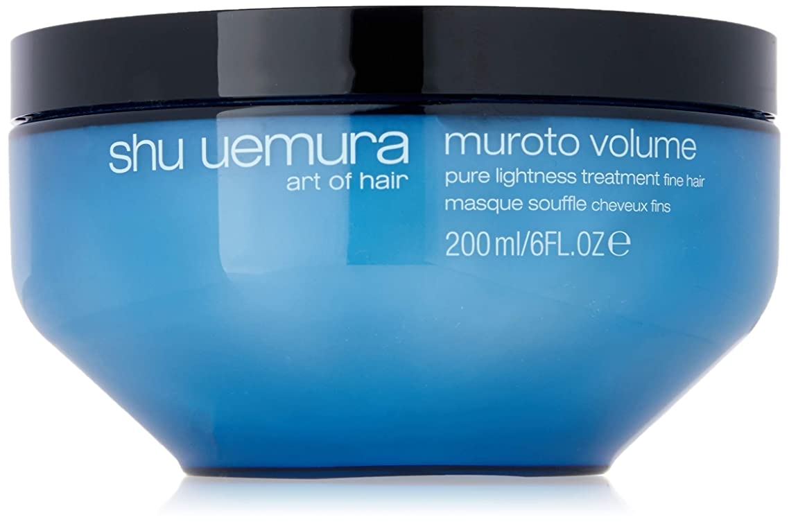 Shu Uemura Muroto Volume Pure Lightness Treatment Mask for Unisex, 6 Ounce