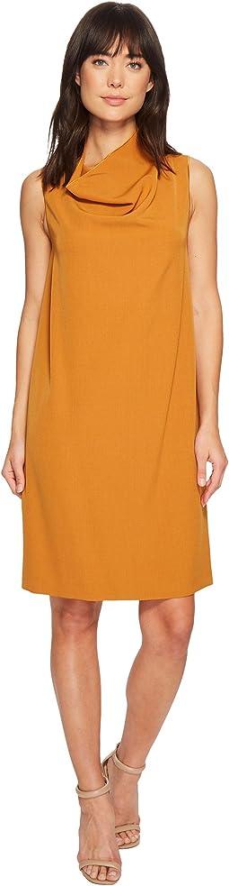 Cowl Neck Sheath Dress