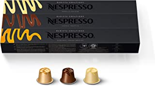 Nespresso Capsules OriginalLine, Barista Flavored Pack, Mild Roast Espresso Coffee, 30 Count Espresso Coffee Pods, Brews ...