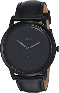 Fossil Men's the Minimalist Stainless Steel Slim Casual Quartz Watch