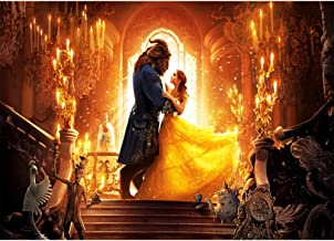 Photography Backdrops 7x5ft Gold Palace Princess Backgrounds Rose Flowers Beauty and The Beast Backdrop Vinly Photobooth Pictures
