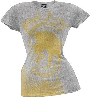 Pink Floyd - Womens Golden Pig Juniors T-shirt Large Grey