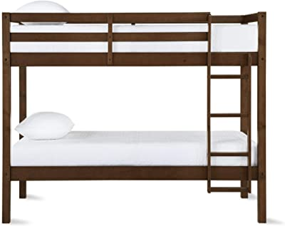 Amazon Com Oeuf Perch Bunk Bed In White Birch Kitchen Dining