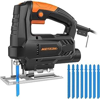 comprar comparacion Sierra de Calar, Meterk 400W 6 Velocidades Ajustables:0-3000RPM Hogar Pequeño Multifunción de la Máquina de Corte Carpinte...