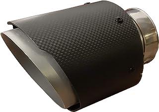 CARTUNER Carbon Auspuffblende Endrohr Auspuff 100mm Anschluß 65mm Exclusiv