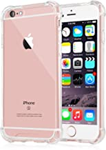 [Crystal Clear] iPhone 6 / 6s Case, iXCC NewCover Case [Shock Absorption] with Transparent Hard Plastic Back Plate and Soft TPU Gel Bumper - Clear