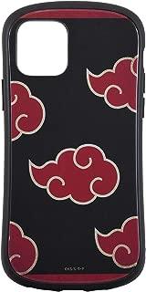 バンダイ NARUTO-ナルト- 疾風伝 iPhone11 Pro(5.8インチ)対応ハイブリッドガラスケース 暁(あかつき) BNRT-02B
