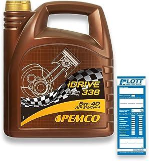 Aceite de Motor para automóvil PEMCO iDRIVE 338 5 litros