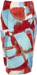 Belle Bird Womens Knee Length Skirts Belle Artist Print Skirt Artist