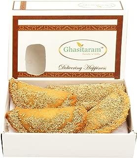 Ghasitaram Gifts Indian Sweets (Mumbai), Holi Sweets, Authentic Indian, Ghasitaram's Roasted Khus Khus Gujiya 200 Grams
