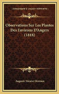 Observations Sur Les Plantes Des Environs D'Angers (1818)