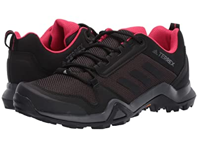 adidas Outdoor Terrex AX3 (Carbon/Black/Active Pink) Women