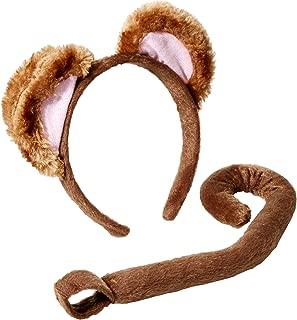 Women's Playful Animals Monkey Costume Accessory Set