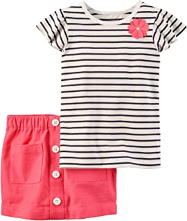 Carter's Girls' 2 Pc Playwear Sets 259g352