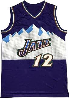 PANGOIE 12# Stockton Basketball Jerseys Basketball Training Uniform Swingman Jersey Embroidery T-Shirts Vests for Men's Women