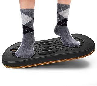 Yes4All Wobble Balance Board for Standing Desk/Anti-Fatigue Office Foam Pad - Standing Desk Mats, Rocker Board, Anti-Fatig...