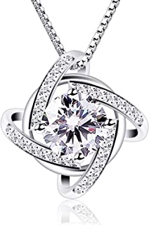 B.Catcher Necklaces Silver Womens Jewelry Pendant Cubic...