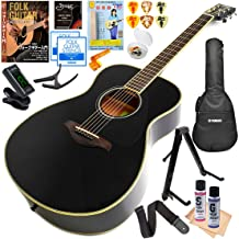 ヤマハ アコースティックギター 初心者セット YAMAHA FS820 BL ブラック (入門 16点 セット)