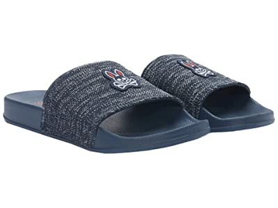 SWIMS Swims Psycho Bunny Pool Slide (Navy/Navy) Men
