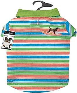 Casual Canine Hawaiian Breeze UPF40 Polo Shirt for Dogs, Small