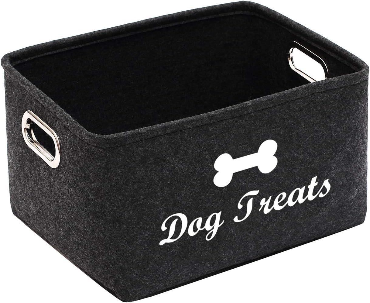 Felt Dog Food Storage Direct store Container price - Bone Perfect bin