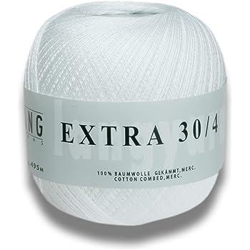 DMC Cordonnet coton taille 70 361 m/ètres-blanc