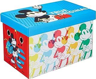 Disney Mickey Mouse Storage Chest, 24-inch Toy Organizer