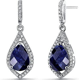 Best sapphire pear drop earrings Reviews