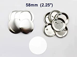Buttonsclother White Kam Resin T3 Snap Button Plastic Snaps Button Size 16 T3 Caps 10.7Mm 1000 Sets by DOBTSore