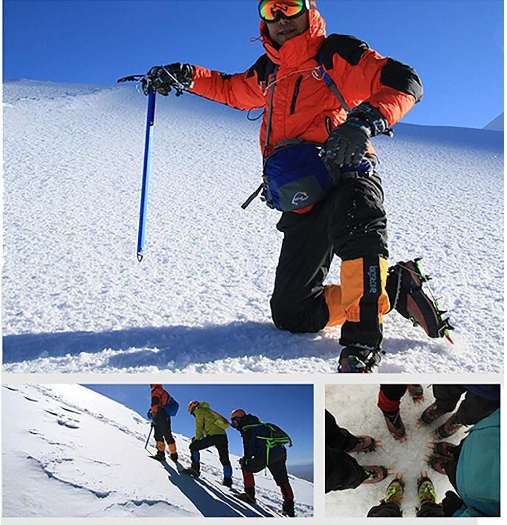 BRS Professional Outdoor Climbing Non Slip Adjustable Aluminum Crampons
