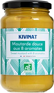 Kivinat Organic Sweet Mustard With 8 Spices, 350g